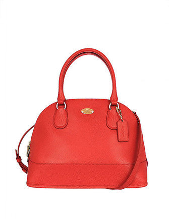 Coach Crossgrain Cora Domed Satchel