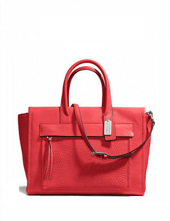 Coach Large Bleecker Riley Pocket Carryall Tote