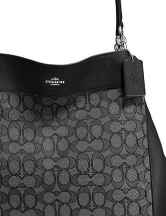 Coach Signature Lexy Shoulder Bag