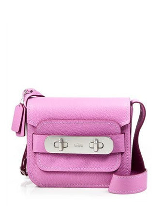 Coach Swagger Shoulder Bag in Pebble Leather