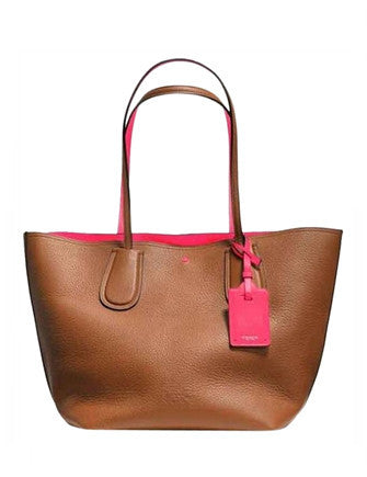 C.O.A.C.H. Soft Double Faced Leather Taxi Tote