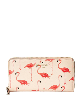 Kate Spade New York Cedar Street Flamingo Contiental Wallet