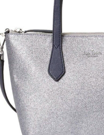 Kate Spade New York Joeley Small Glitter Satchel