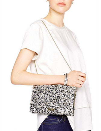 Kate Spade New York All That Glitters Emanuelle Sequins Clutch