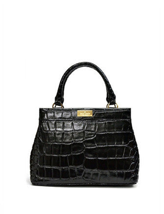 Kate Spade New York Becky Ridgely Avenue Croc Satchel