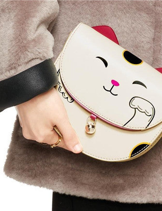 Kate Spade New York Tonti Street Lucky Cat Clutch