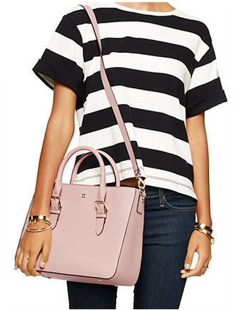 Kate Spade New York Cove Street Goldie Crosshatched Satchel