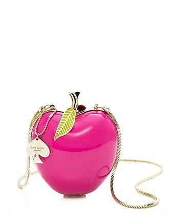 Kate Spade New York Far From The Tree Apple Clutch