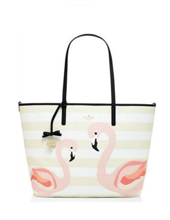 Kate Spade New York Strut Your Stuff Harmony Flamingo Baby Bag