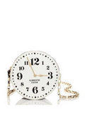 Kate Spade New York All Aboard Patent Clock Crossbody