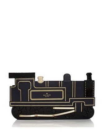 Kate Spade New York All Aboard Train Clutch