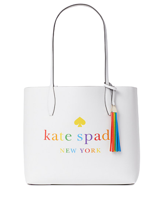 Kate Spade New York Arch Rainbow Logo Large Reversible Tote