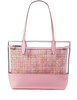Kate Spade New York Ash See Through Tweed Large Triple Compartment Tote