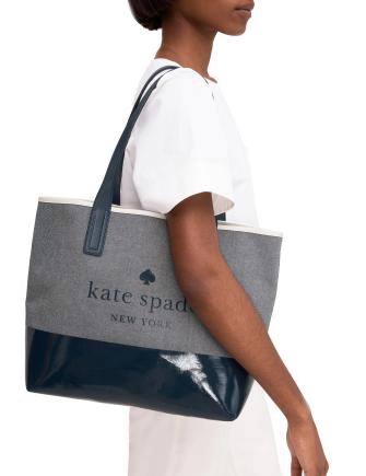 Kate Spade New York Ash Street Logo Triple Compartment Tote