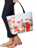 Kate Spade New York Be Mine Rose Market Hallie Tote