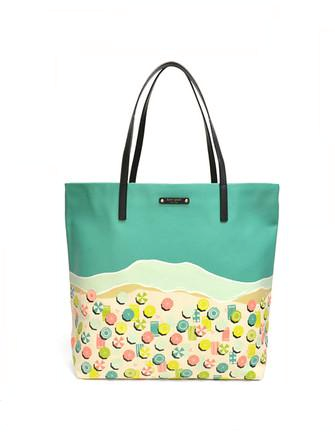 Kate Spade New York Bon Shopper Sand Hill Circle Tote
