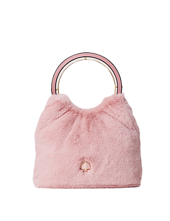 Kate Spade New York Betty Faux Fur Swag Bag