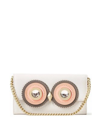 Kate Spade New York Blaze a Trail Milou Owl Wallet Clutch