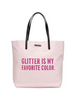 Kate Spade New York Bon Shopper Glitter Is My Favorite Tote