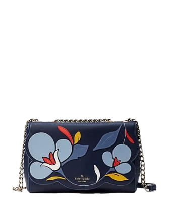 Kate Spade New York Briar Lane Floral Quilted Emelyn Shoulder Bag