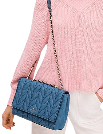 Kate Spade New York Briar Lane Quilted Denim Emelyn