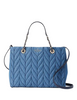 Kate Spade New York Briar Lane Quilted Denim Meena Satchel