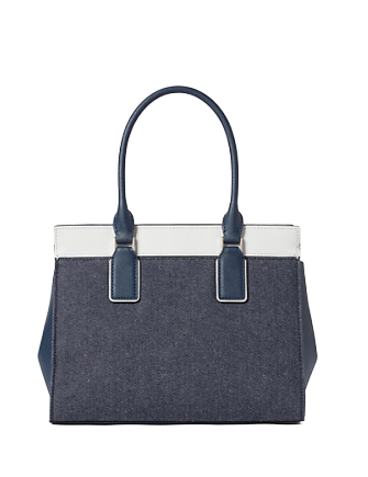 Kate Spade New York Cameron Denim Colorblock Medium Satchel
