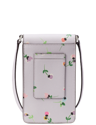 Kate Spade New York Cameron Floral Ditsy North South Flap Phone Crossbody