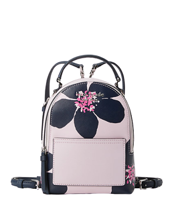 Kate Spade New York Cameron Grand Flora Mini Convertible Backpack