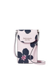 Kate Spade New York Cameron Grand Flora North South Flap Phone Crossbody