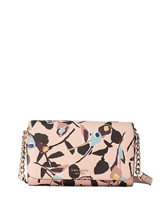 Kate Spade New York Cameron Paper Rose Small Flap Crossbody