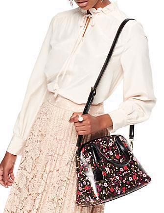 Kate Spade New York Cameron Street Boho Floral Lottie Satchel
