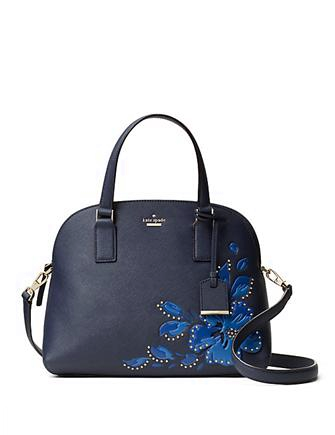 Kate Spade New York Cameron Street Hibiscus Lottie Satchel