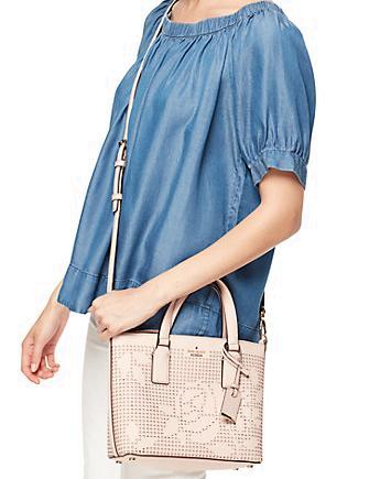 Kate Spade New York Cameron Street Perforated Lucie Crossbody