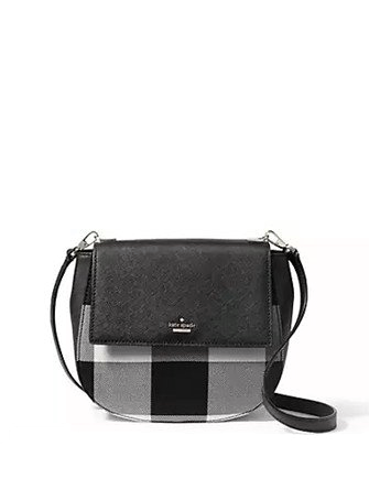 Kate Spade New York Cameron Street Plaid Byrdie Crossbody