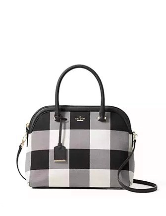Kate Spade New York Cameron Street Plaid Margot Satchel