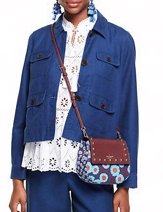 Kate Spade New York Cameron Street Tangier Floral Small Byrdie Crossbody