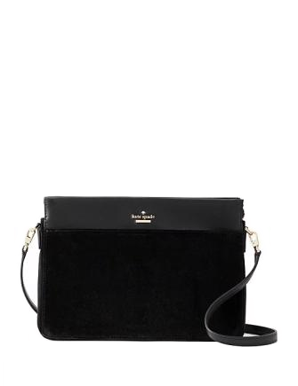 Kate Spade New York Cameron Street Velvet Noelle Crossbody