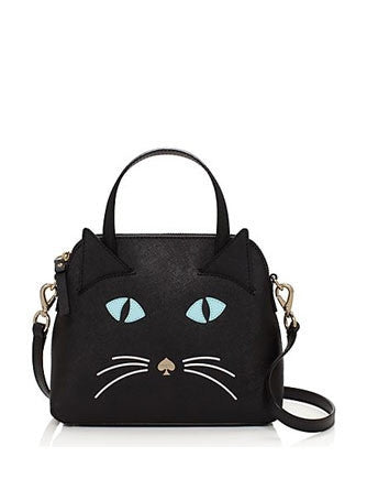 Kate Spade New York Cat's Meow Cat Small Maise Satchel
