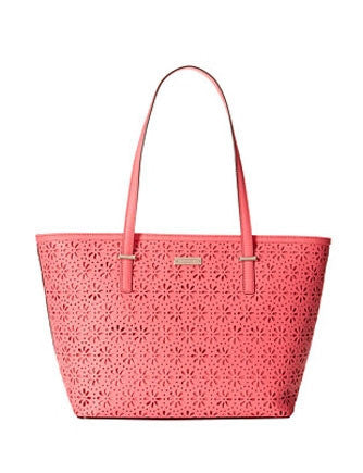 Kate Spade New York Cedar Street Perforated Floral Small Harmony Tote