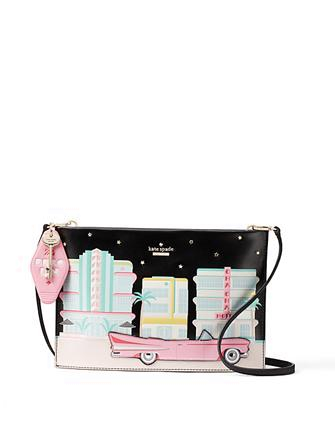 Kate Spade New York Checking In Car Sima Clutch