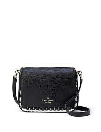 Kate Spade New York Cobble Hill Straw Abela Crossbody