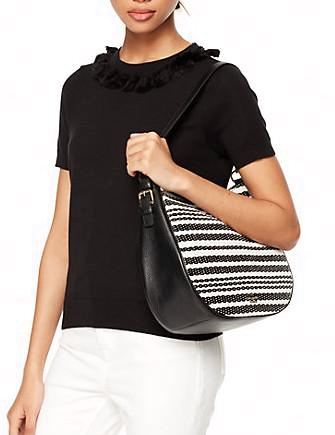 Kate Spade New York Cobble Hill Straw Mylie Shoulder Bag