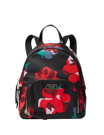 Kate Spade New York Dawn Bold Roses Medium Backpack