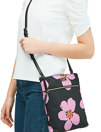 Kate Spade New York Dawn Grand Flora Flat Crossbody
