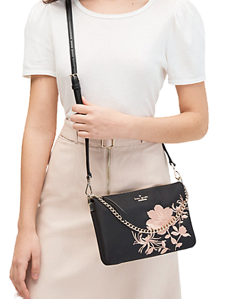 Kate Spade New York Dawn Place Embroidered Madelyne Crossbody