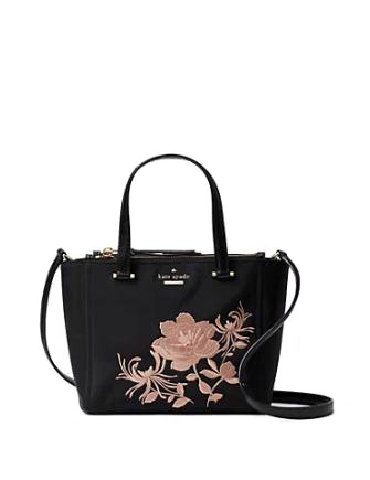 Kate Spade New York Dawn Place Embroidered Mini Kona Satchel