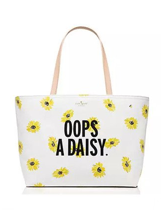 Kate Spade New York Down the Rabbit Hole Oops a Daisy Francis Tote