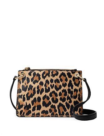 d964f819734d Kate Spade New York Dunne Lane Leopard Print Caro Crossbody ...