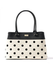 Kate Spade New York Elena Bixby Place Fabric Polka Dot Shoulder Bag